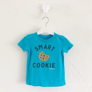 Size 2T Life is Good Blue T-Shirt